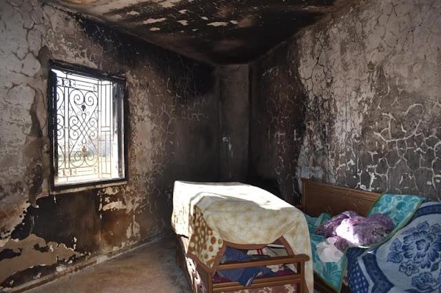 المهدية : مساعدة عاجلة لعائلة تعرض منزلها للحرق