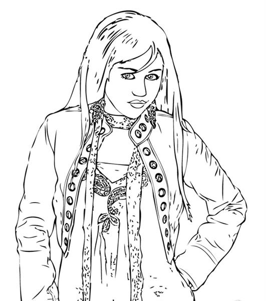 Free Printable High School Musical Coloring Pages - Coloring Home | 600x531
