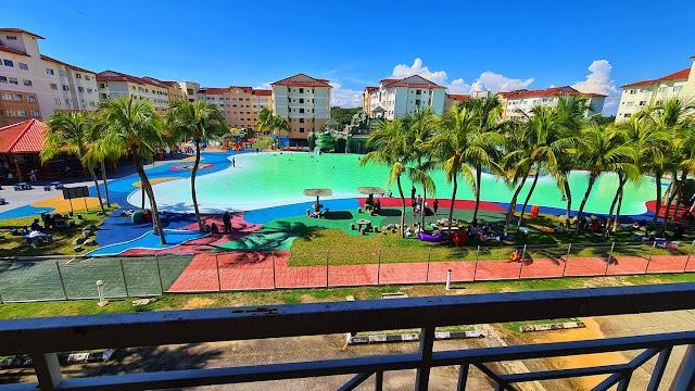 View Swimming Pool di Ehsan Water Park, Port Dickson