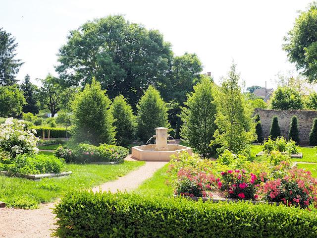middeleeuwse tuin Huriel