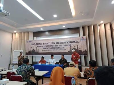 Bantu Hewan Qurban,   Wakil Bupati Batu Bara Apresiasi PT Inalum