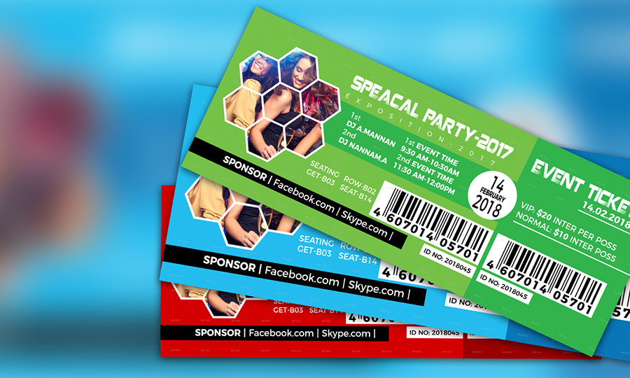how to create an event ticket adobe photoshop cc tutorial apple
