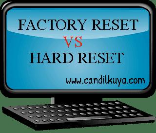 Perbedaan Factory Reset dengan Hard Reset