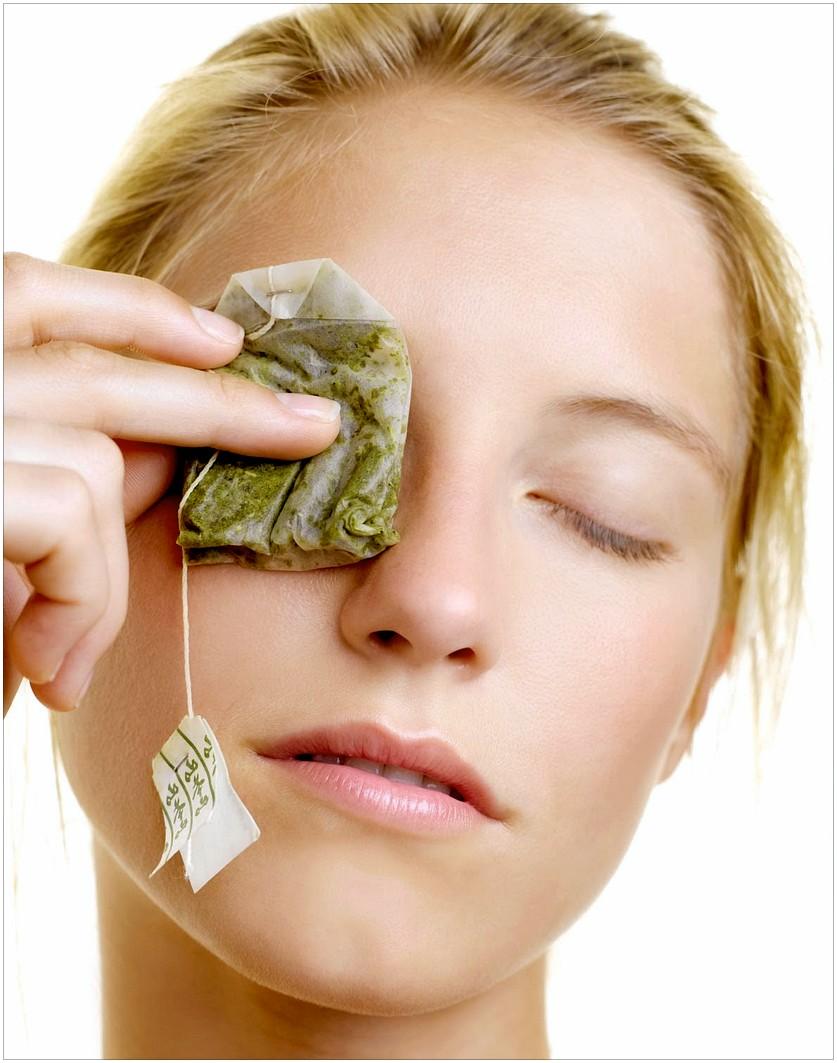 The Girls Corner: Beauty Tips For Eyes - Green Tea Bag.