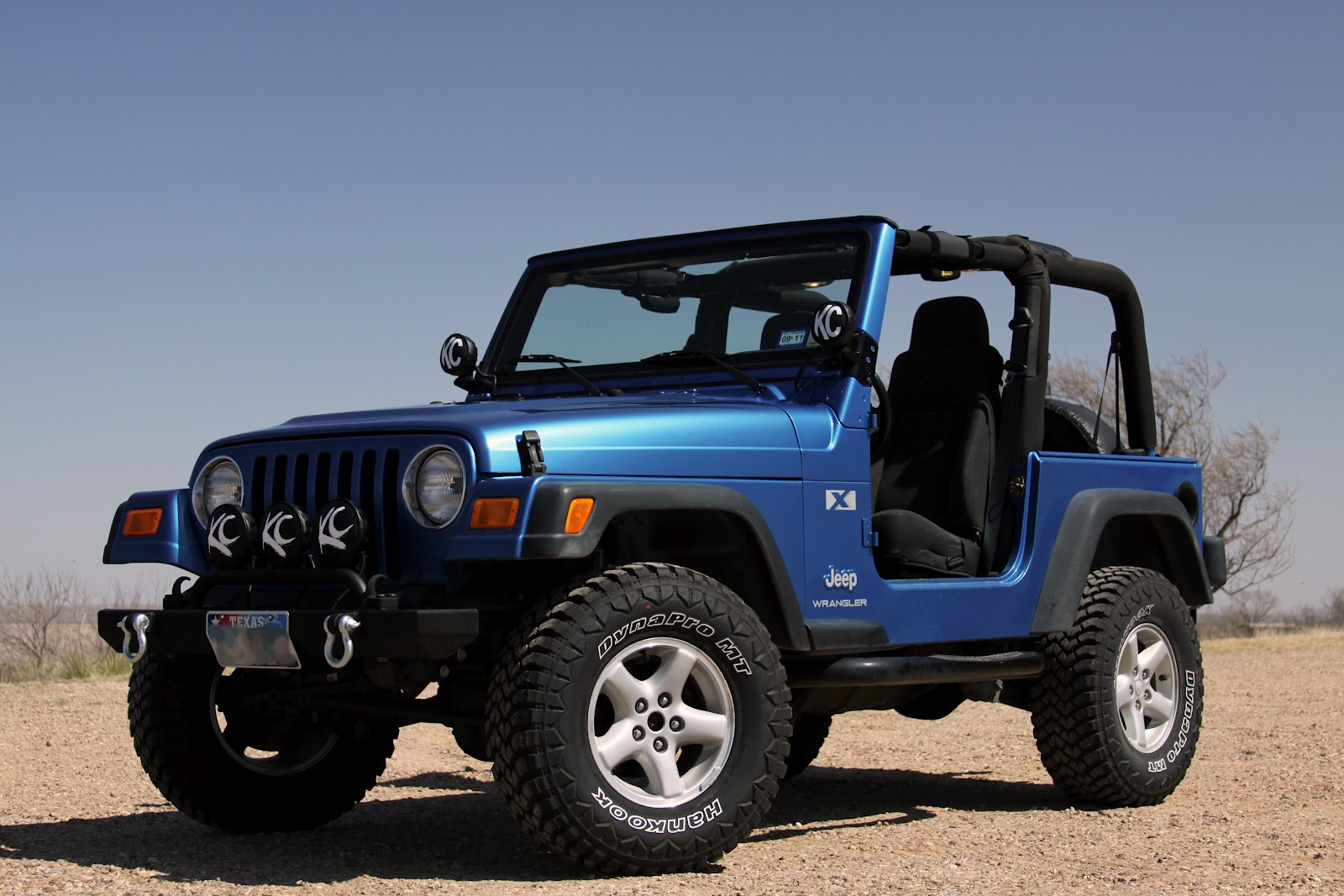 In This Jeep: 2003 Jeep Wrangler