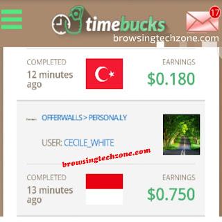 Timebucks review - legit or Scam