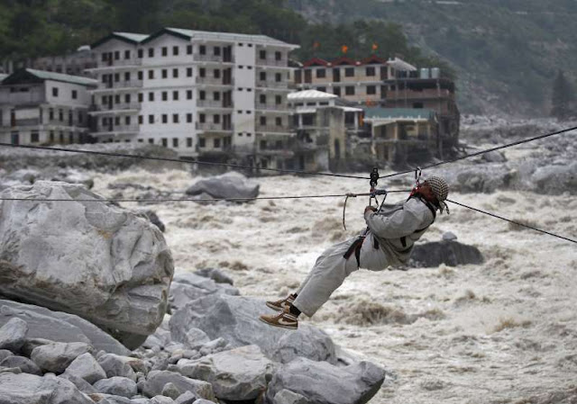 The Himalayan Glacier Bursts In India; dozens of dreaded dead