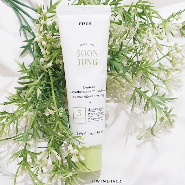 Review Etude House Soon Jung Centella 5-Panthensoside Cica Balm