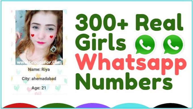 Real Girls Whatsapp Number List 2020
