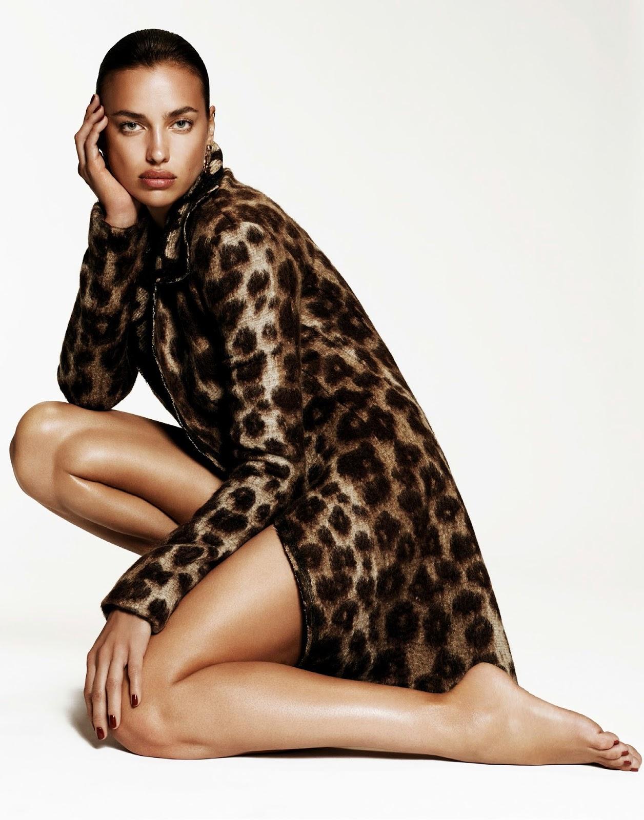 Fashion Magazines Vogue Spain September 21 Irina Shayk by ...