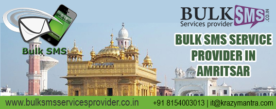 Bulk sms service provider in amritsar
