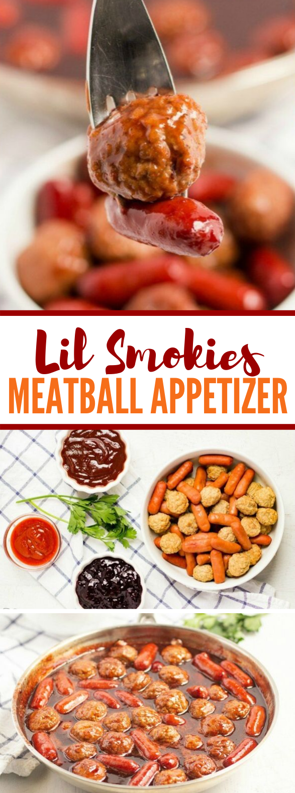 EASY LIL SMOKIES & MEATBALL APPETIZER #lunch #dinner