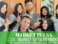 Market Pulsa - CV Market Cipta Payment - Distributor Pulsa Murah di Tahun 2020