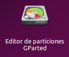 Editor de particiones GParted