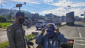 Binmas Desa Ciherang Polsek Nagreg Polresta Bandung Imbauan 3M Kepada Masyarakat