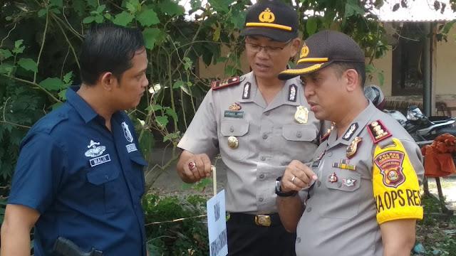 Kapolres Ogan Ilir, Perintahkan Tindak Tegas Bagi Pelaku Pembakar Lahan