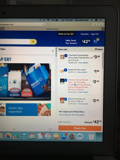 Wal Mart Online Grocery