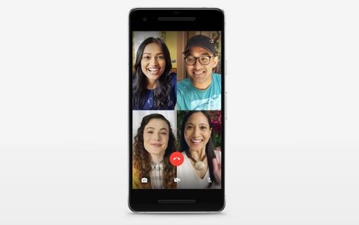 أخيرا واتساب يضيف الإتصال الجماعي بالفيديو مع 8 أشخاص