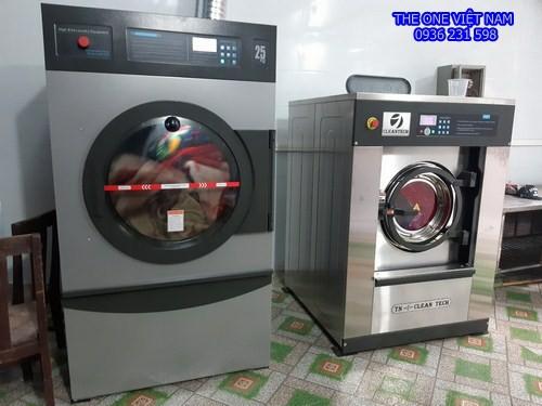 Máy giặt sấy công nghiệp cho tiệm giặt Gia Lâm