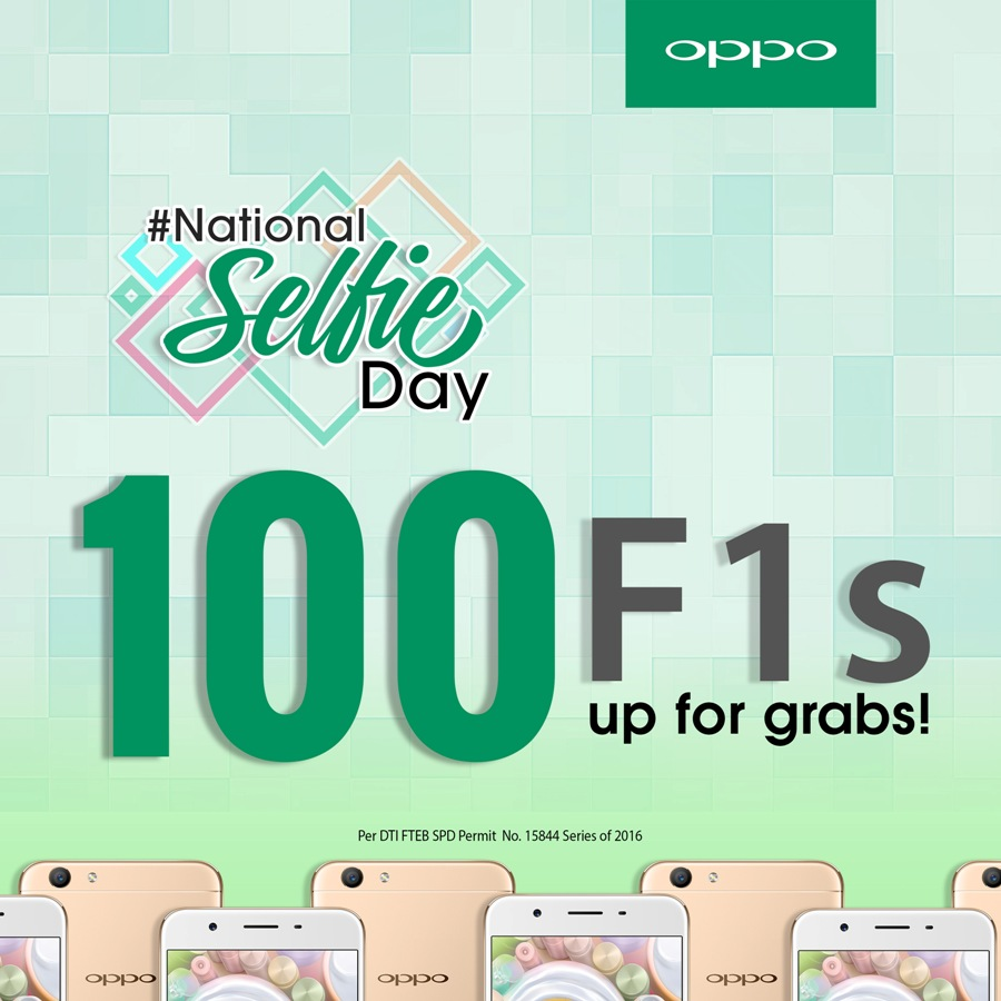 100 OPPO F1s up for grabs this Christmas!