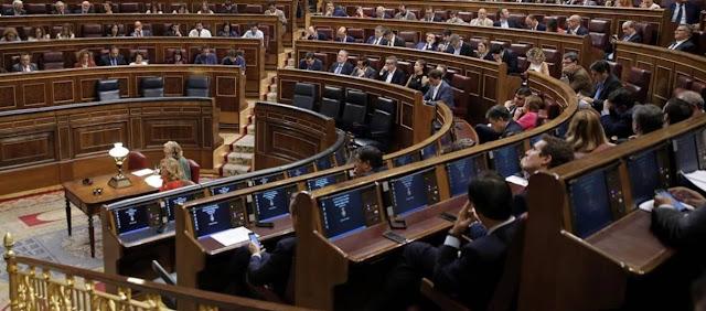 Comision de investigacion y Cortes Generales