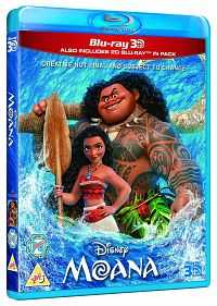 Moana 2016 3D Full Movie 720p Download Dual Audio BluRay