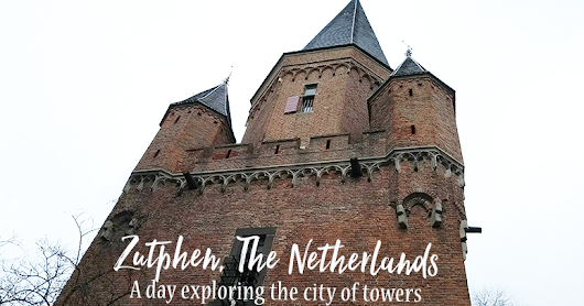 Top tips for a day exploring 'Hanzestad' Zutphen in the Netherlands