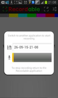 EASY screen recorder NO ROOT untuk Samsung Galaxy ACE 3