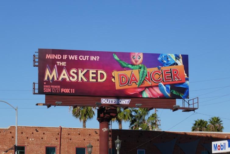 Masked Dancer season 1 billboard