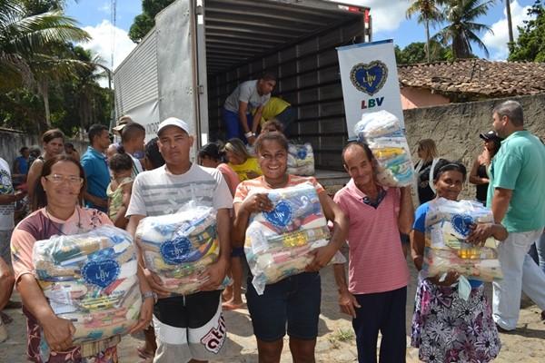 LBV assiste neste Natal famílias pobres de Alagoas