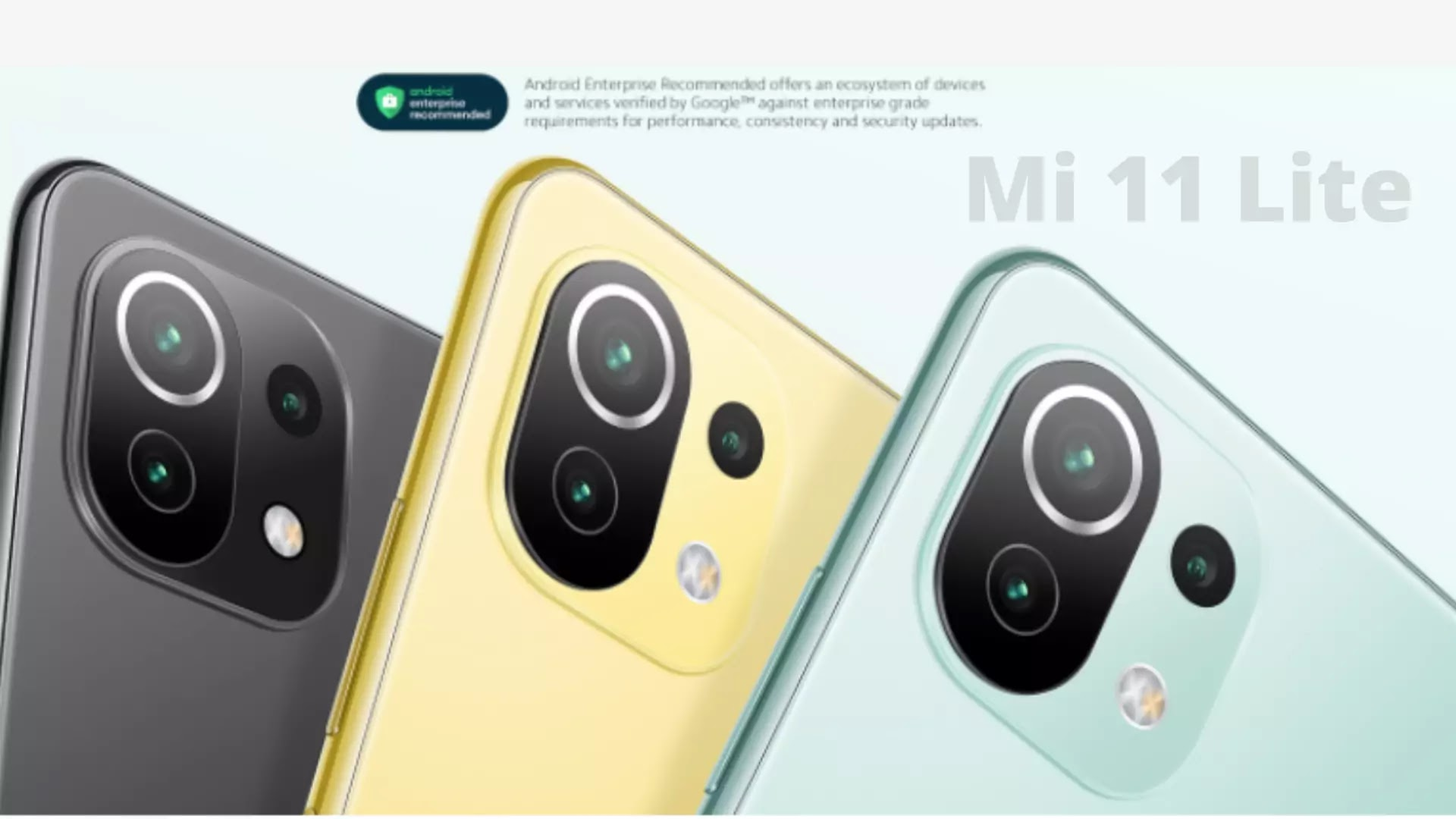 Mi 11 Lite will be launched in India