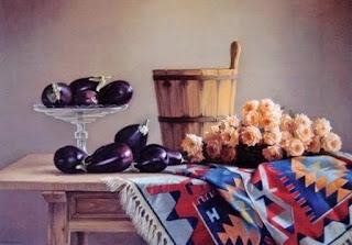 pinturas-realistas-naturalezas-muertas-con-flores bodegones-flores-cuadros-oleo