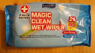 magic clean wet wiper