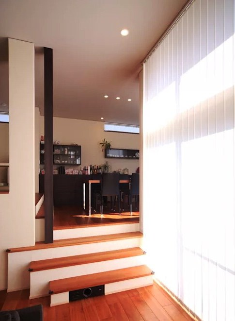 Contoh Rumah Split Level Minimalis Sederhana