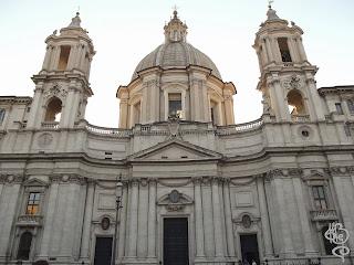 Fachada de Sant'Agnese in Agone