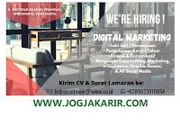 Loker Digital Marketing di Perusahan Bidang Furniture & Kerajinan di Jogja