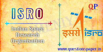 ISRO Scientist/Engineer 'SC' Mechanical |  Refrigeration & Air Conditioning |Civil | Electrical Question Papers (12-01-2020)
