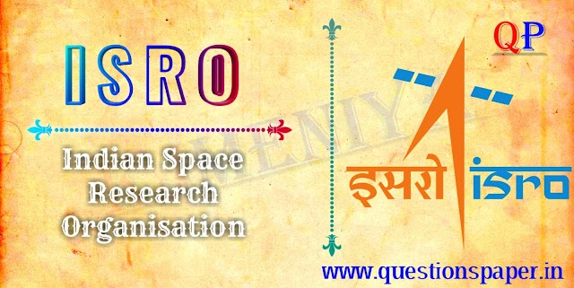 ISRO Scientist/Engineer 'SC' Mechanical |  Refrigeration & Air Conditioning | Civil | Electrical Question Papers (12-01-2020)