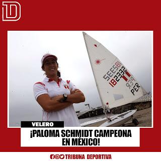 ¡PALOMA SCHMIDT CAMPEONA EN MÉXICO!