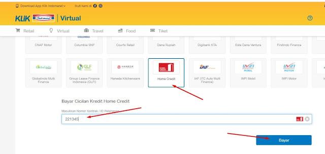 cek angsuran home credit tanpa aplikasi