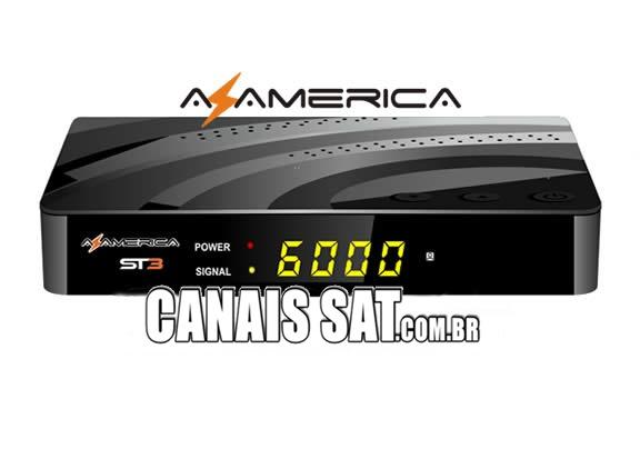 Azamerica ST3 4K Atualização V1.09.22811- 03/06/2021