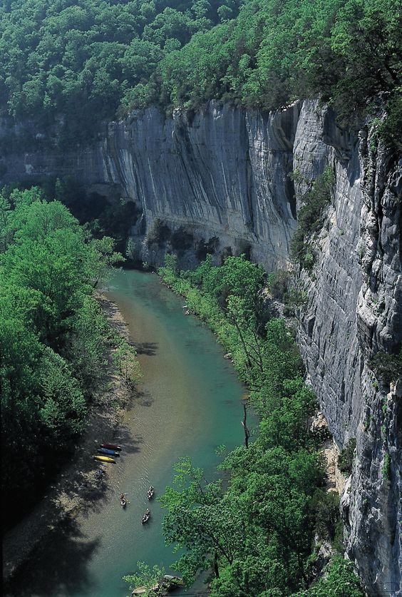 Roark's Bluff, Arkansas, USA