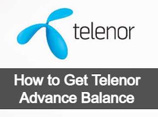 Telenor Advance Balance Code 2021 – How to get Telenor Loan