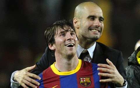 Manchester City boss Guardiola has told Messi to see through his Barcelona deal