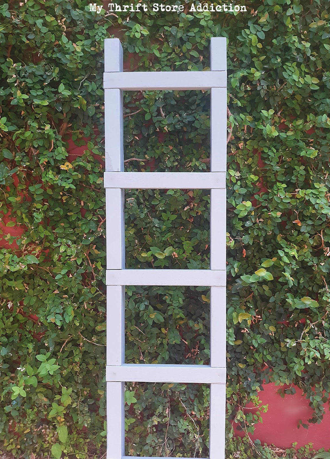 reclaimed ladder upcycle