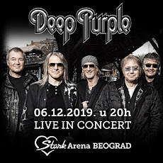 DEEP PURPLE U ŠTARK ARENI