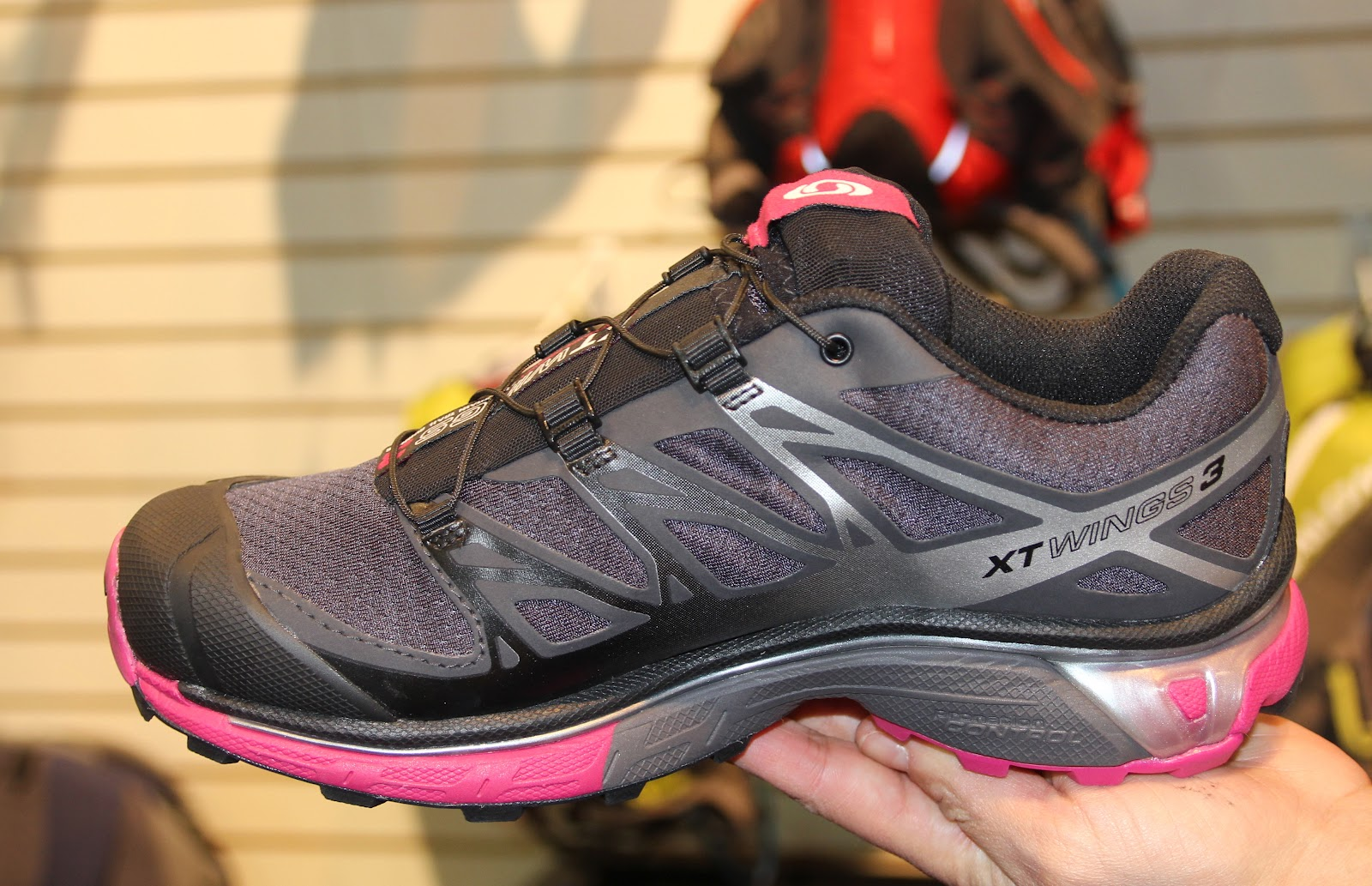 info for e8838 a8c8a ... salomon xt wings 3 grønn valley  xt wings 3 acs system energy return  cushioning and ...