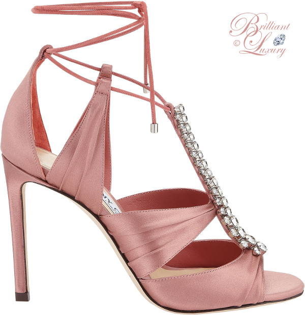 Brilliant Luxury ♦ Jimmy Choo Love Ballet Pink Suede Pointy Toe Pumps