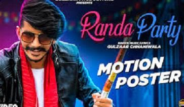 Randa Party Lyrics in Hindi-रांडा पार्टी – Gulzaar Chhaniwala