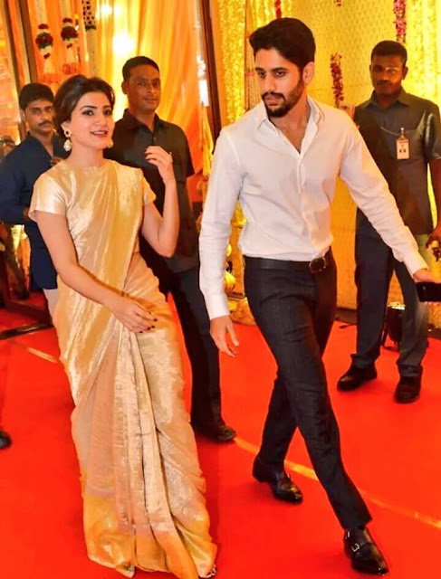 naga chaitanya,samantha at nimmagadda swathi marriage